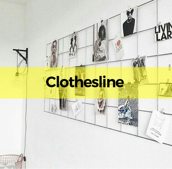 artboard clothes line
