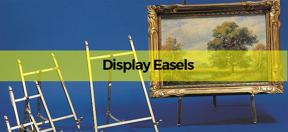 display easels