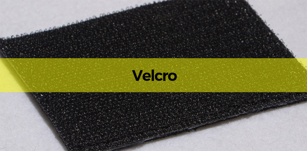 one side of a velcro