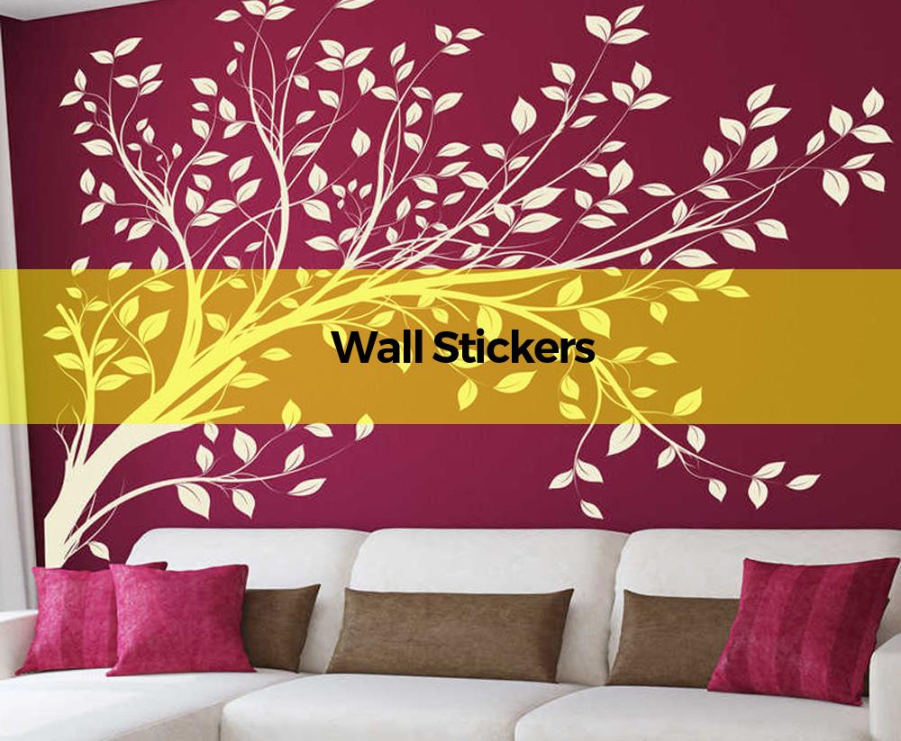 wall sticker of a tree